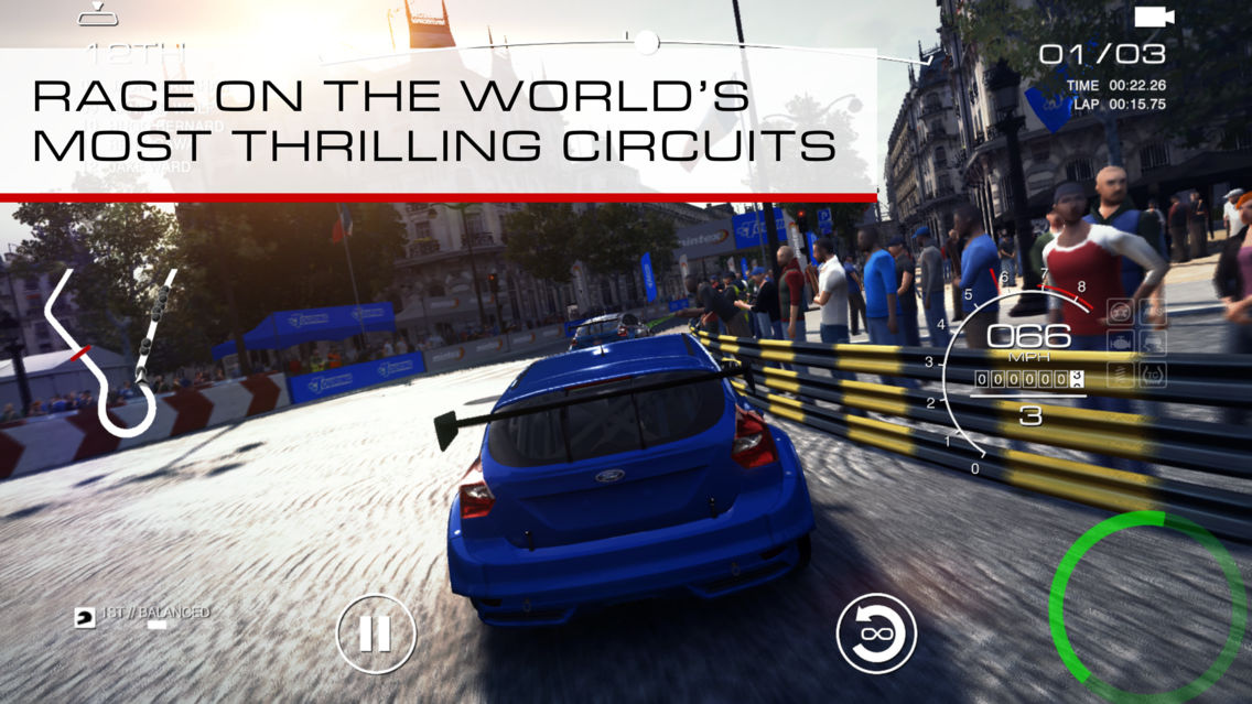 GRID™ Autosport App for iPhone - Free Download GRID
