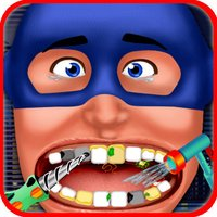 Super Hero Dentist - Little Tongue And Throat X-Ray Doctor Game For Kids