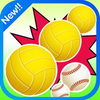 Sport balls Match 3 Game For Kids