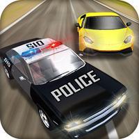 Crazy Police Pursuit Highway Race - Cops Vehicles Driving Simulator and Criminals Escape Silent Mission