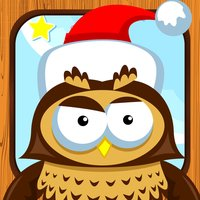 A Christmas Tale: a game to learn and play for children with animals of the snowy wood