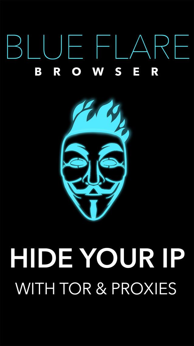 Blue Flare Anonymous Browser: Hide Your IP Address App for