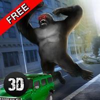 Gorilla Rampage Attack: Destroy City