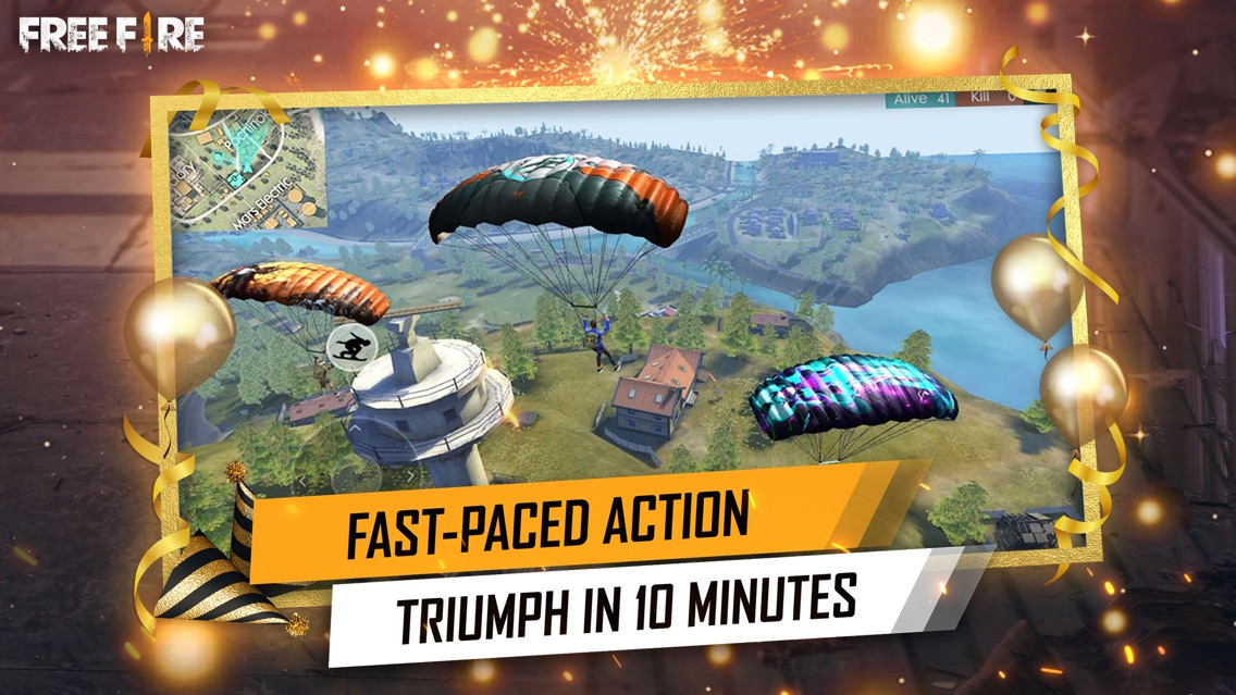 Garena Free Fire - Anniversary App for iPhone - Free