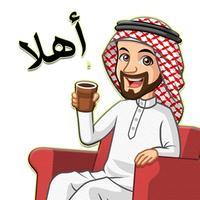 ملصقات خليجية وعربية مضحكة