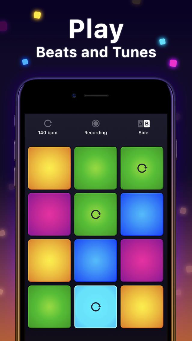 Drum Pad Machine - Beat Maker App for iPhone - Free Download