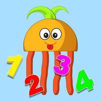 Funny Math Monster