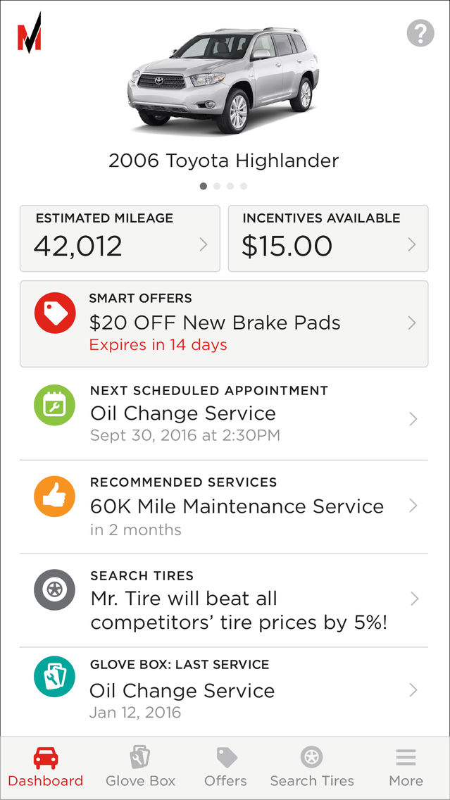 Mr Tire Oil Change >> Motomanager By Mr Tire App For Iphone Free Download