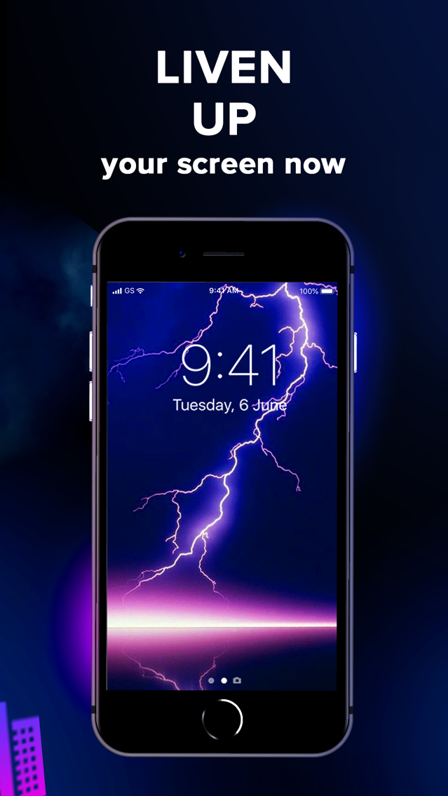 Live Wallpapers: HD quality. iPhone