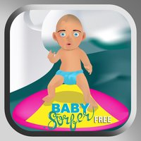 A Surfing Baby: Water Sports Adventure in Surf City