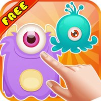 One Eye Monster Crush : - A Crazy fun matching 3 game for the Christmas season.