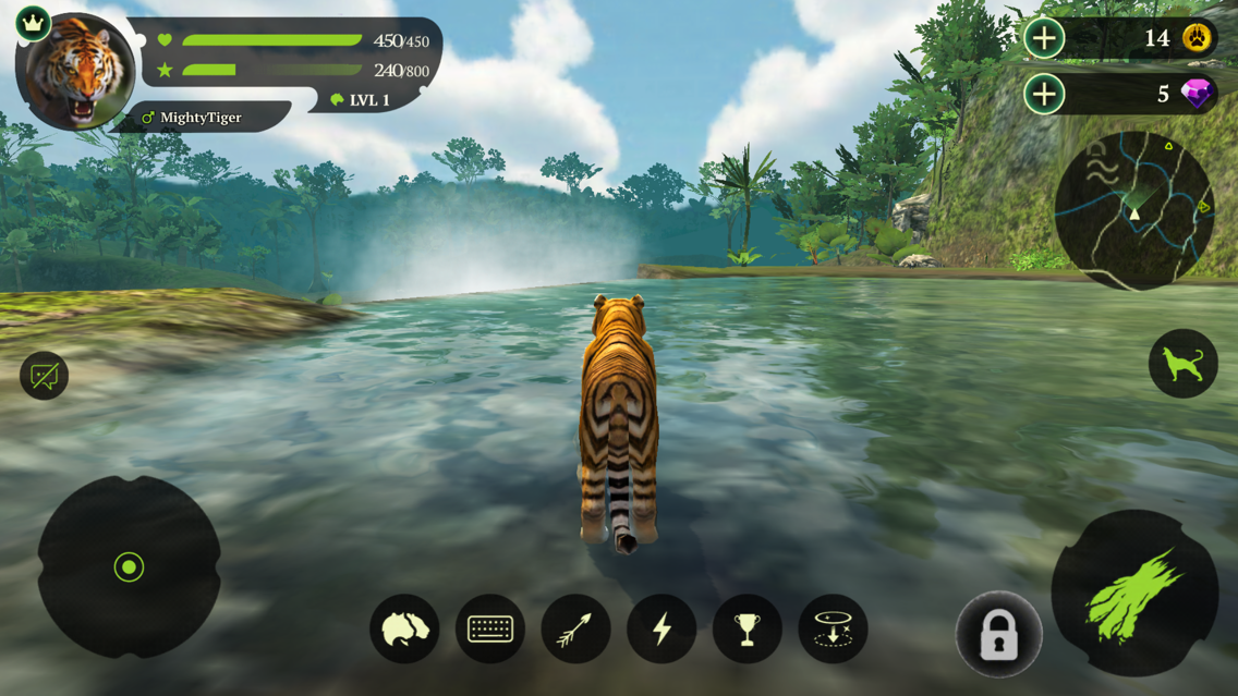 The Tiger Online RPG Simulator App for iPhone - Free Download The
