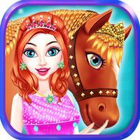 Horse Care Mane Braiding 2