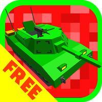 Cube Tanks - Blitz War 3D