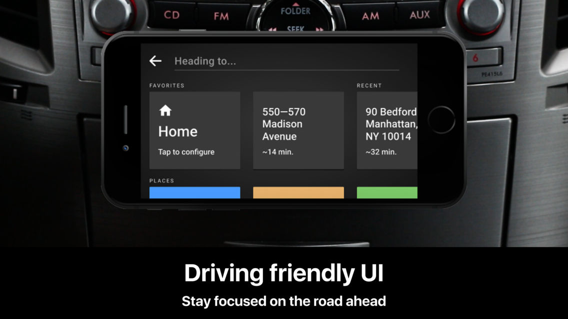 HUDWAY Cast — Safe Driving App for iPhone - Free Download