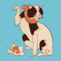 Kuniyoshi Cats Stickers