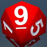 RPG D10 Role-Player Dice for iMessage