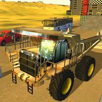 Monster Wheels Truck Driver Parking Sim