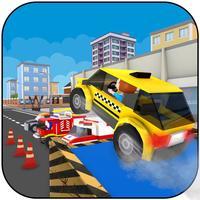 City Stunts Car Driving Games