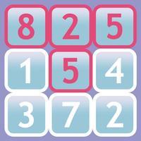 Twentris HD, blocks and numbers.