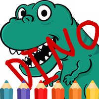 T Rex Dinosaur Coloring Book free game for kids