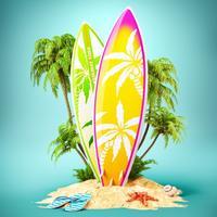 Hawaii Travel & Vacation Stickers