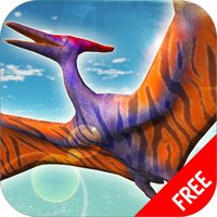 Flying Pterodactyl Simulator : Dinosaurs Survival
