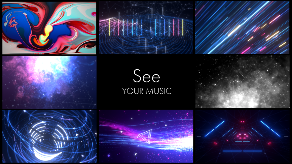 STAELLA - Music Visualizer App for iPhone - Free Download