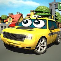 Crazy Mad Taxi Car City Driver