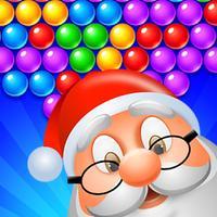 Christmas Bubble Shooter Game