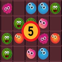 5 Connect-Fruits Connecting Game..