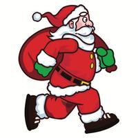 Santa Runner 2D