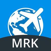 Marrakech Travel Guide with Offline Street Map