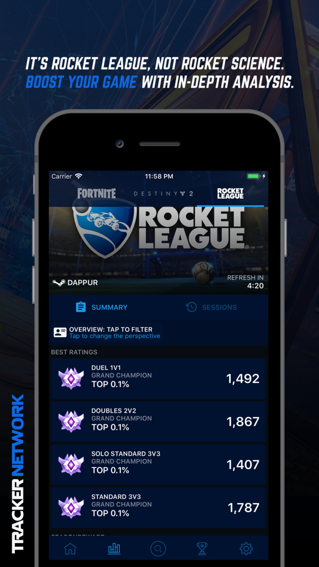 Tracker Network for Fortnite App for iPhone - Free Download Tracker