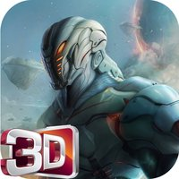 3D Robot Wars of Steel Battleship Run: Infinity Survival Machine Running Game