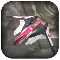 3D Aerospace Galaxy Rocket - A Super-Hero Tunnel Hovercraft Twist Fly