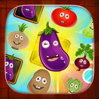 Harvest Farm Battle : Veggies match 3 multiplayer mode puzzle game
