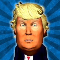 TRUMP-yman GO! Bounce balls at him in augmented reality!