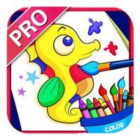 宝宝学涂色1(Pro)-涂鸦可爱动物