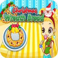 cooking christmas wreath bread