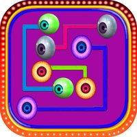 Eye Matching color Pair connecting games