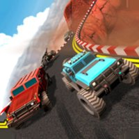 Truck League Monster Race
