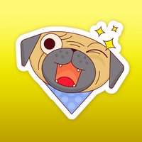 Dogmoji - Cute Bull Emoji Stickers