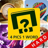 Four Pics One Word Hard