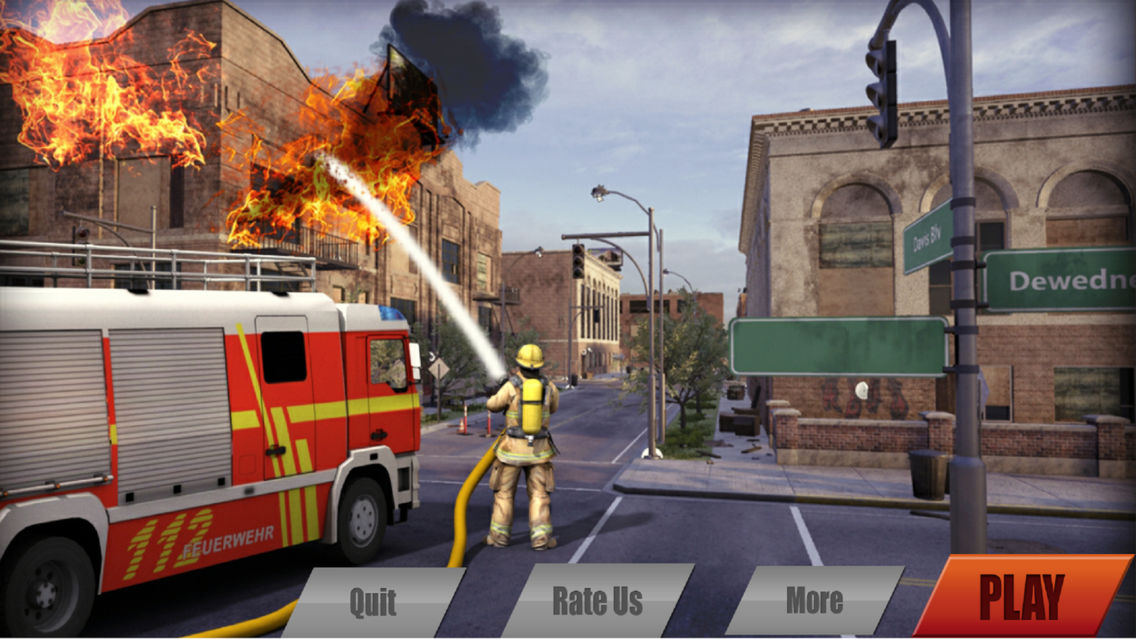 FireFighter Simulator 2018 App for iPhone - Free Download