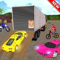 Offroad Truck Transport 3D