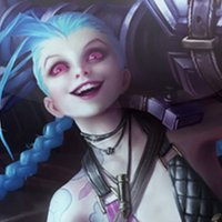 Jinx Fighter for LOL