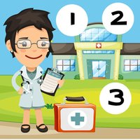 123 My Baby-s & Kid-s First Count-ing & Number-s Game-s: Free Play-ing & Learn-ing in the Hospital