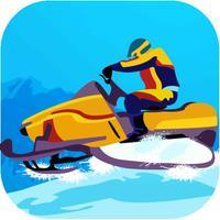 Crazy Speed Snow Race - Snowy Highway Drag Racing
