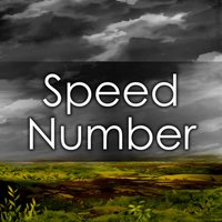 Speed Number -Simple Puzzle